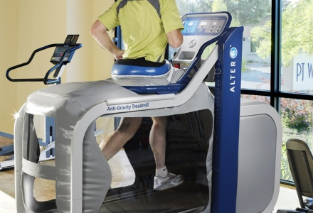 Alter-G Zero-Gravity Treadmill